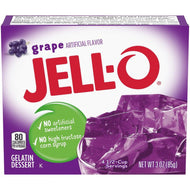 Jell-O Gelatine Dessert, Grape (85g)
