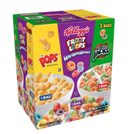Kellogg's Tri-Fun Cereal Froot Loops Marshmallows/Corn Pops/ Apple Jacks (1,1kg)