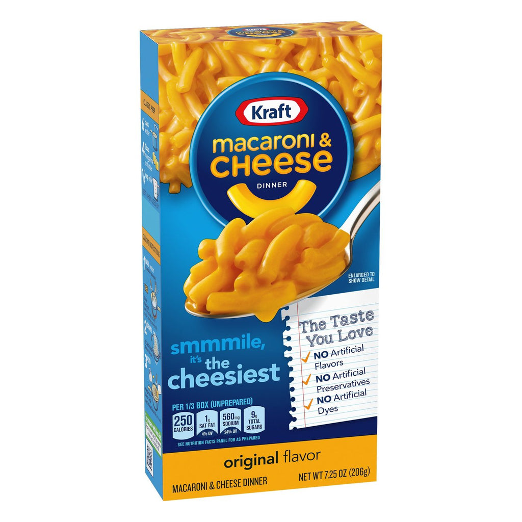 Kraft Macaroni & Cheese, Original (206g)