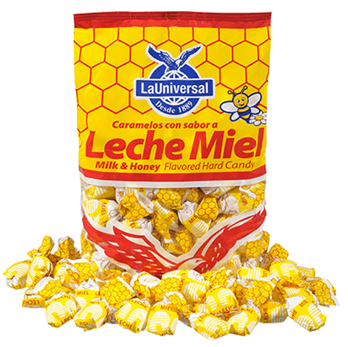 Leche y Miel, Hard Candy - Bag (400g)
