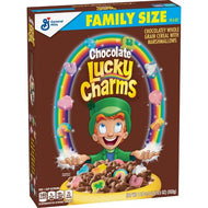 Lucky Charms, Chocolate Cereal (Family Size) (552g)