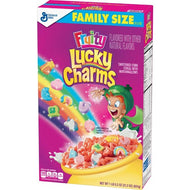 Lucky Charms Fruity Family Size Cereal (601g)