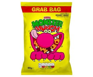 Mega Monster Munch Roast Beef (40g)