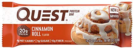 Quest Protein Bar, Cinnamon Roll (60g)