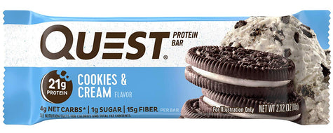 Quest Protein Bar, Cookies & Cream (60g)