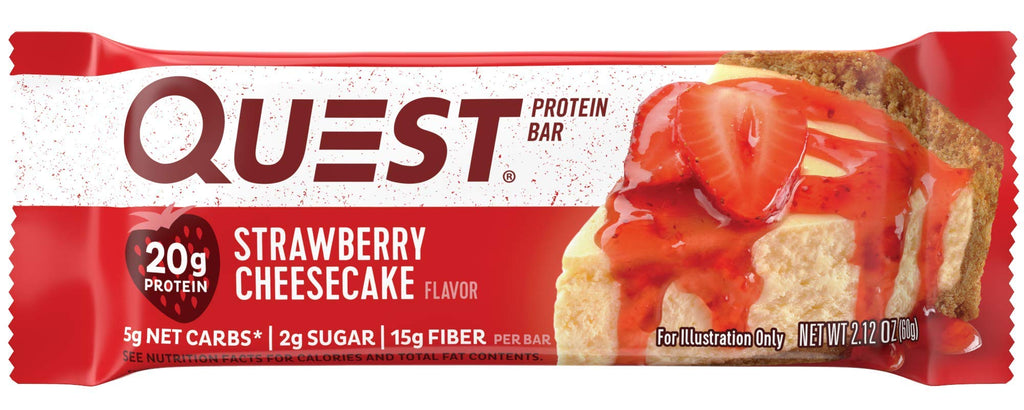 Quest Protein Bar, Strawberry Cheesecake (60g)