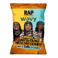Rap Snacks Migos, Bar-B-Quin With my Honey (78g)