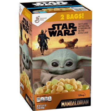 STAR WARS THE MANDALORIAN Cereal, Limited Edition 2 BAGS (935g)