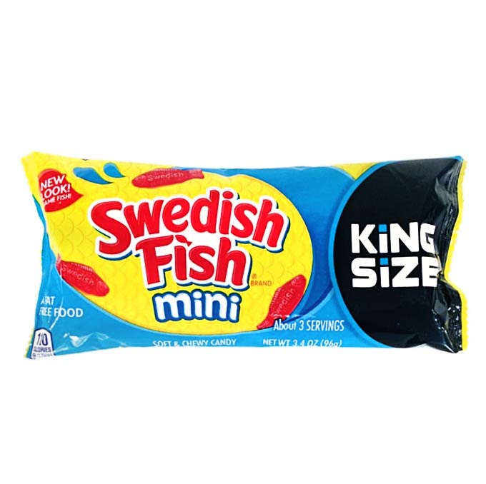Swedish Fish Original, King Size (97g)