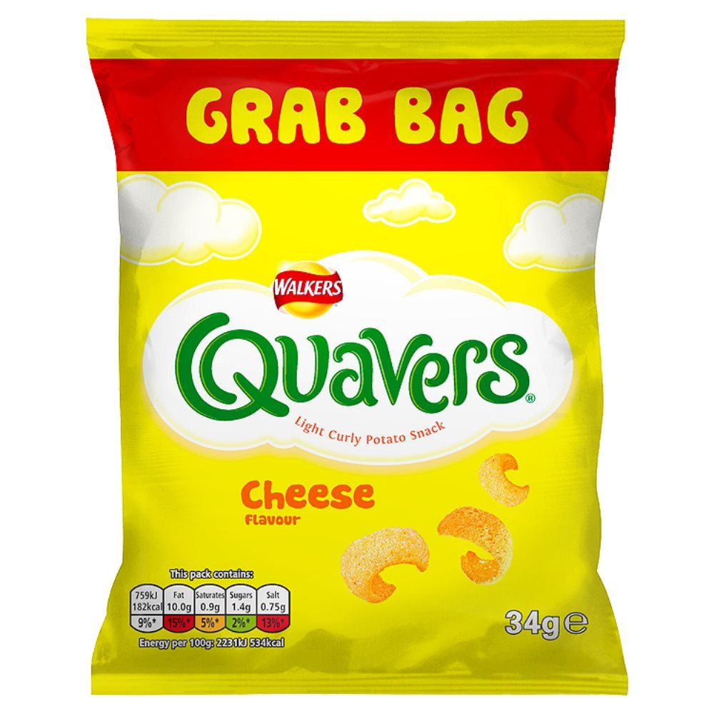 Walkers Quavers Cheese (34g)