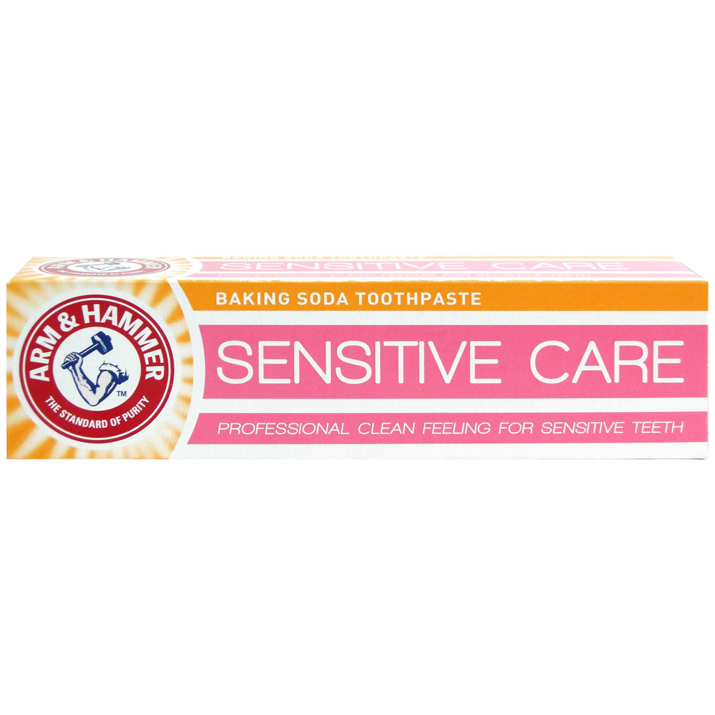 Arm & Hammer Toothpaste, Sensitive Care (125g)