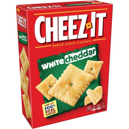 Cheez-It White Cheddar, Baked Snack Crackers (198)
