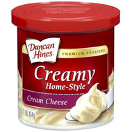 Duncan Hines Creamy Frosting, Cream Cheese (454g)
