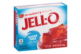 Jell-O Sugar free, Strawberry Gelatin (17g) (Best-By 25-06-2019)