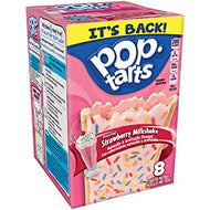 Kellogg's PopTarts Frosted Strawberry Milkshake (400g)