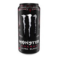 Monster Energy Zero, Ultra Black (473ml)