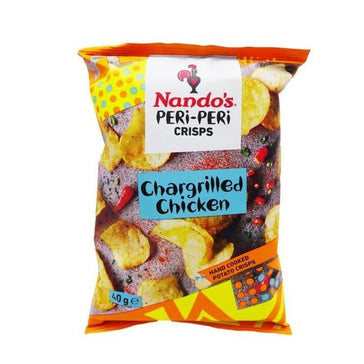 Chargrilled Chicken, Peri Peri Crisps (40g).