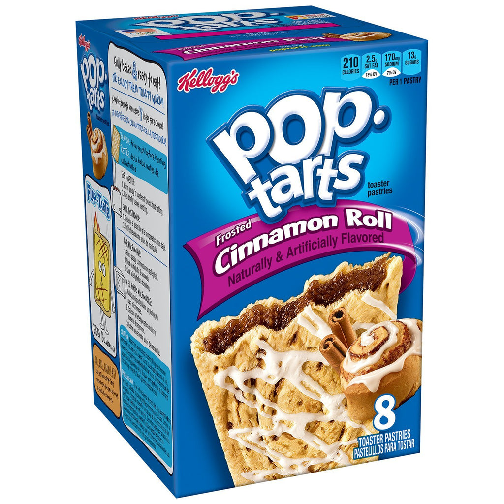 Kellogg's PopTarts Frosted Cinnamon Roll (400g) (BEST-BY 4-10-2018)