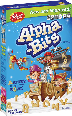 Post Alpha-Bits Cereal (340g) (BEST-BY 07-08-18)