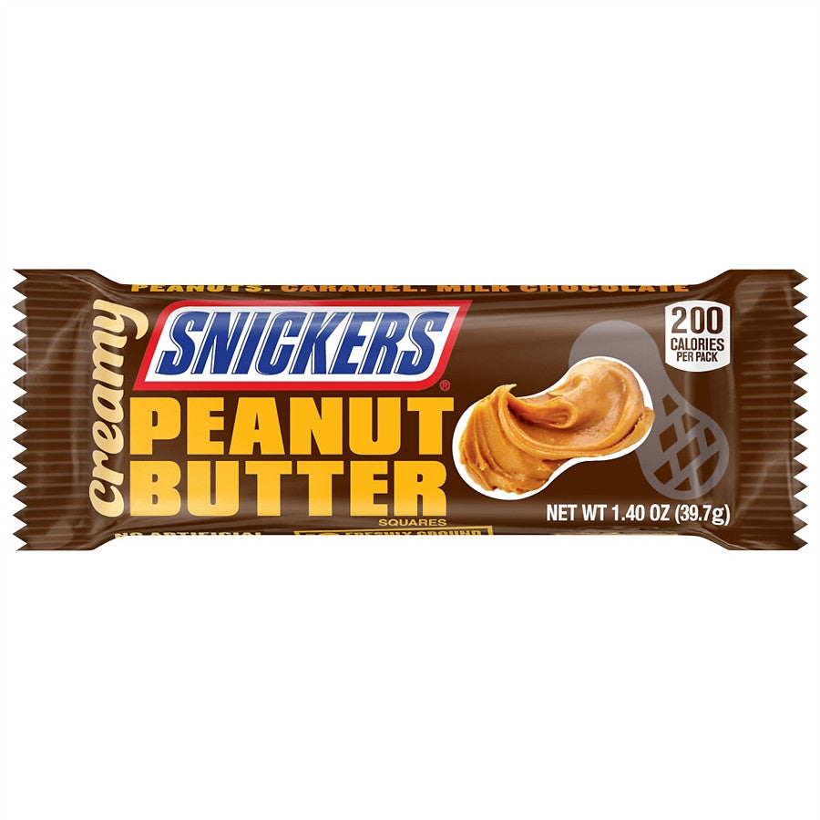 Snickers Creamy Peanut Butter (39g) (BEST-BY 08-2019)