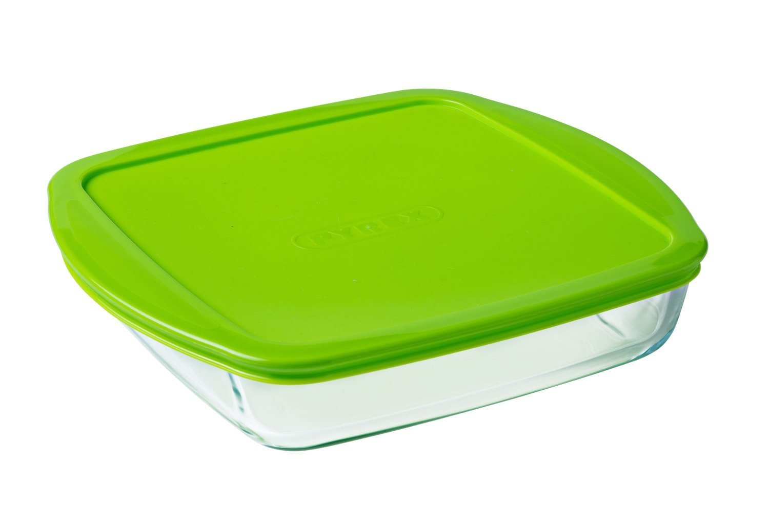 Cook & Store Glass Square Dish High resistance with lid