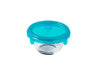 My First Pyrex +  Round Baby Food Storage Blue 11x6 cm- 0,2L