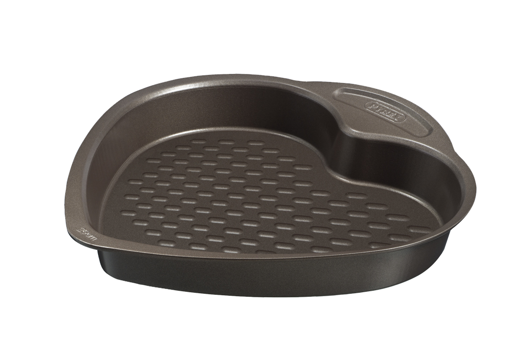 asimetriA Metal Easy-grip Heart shaped Cake pan - 26 cm