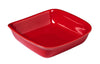 Supreme Cherry red Square roaster - Ceramic - 24 cm