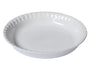 Supreme Pure white Pie dish - Ceramic - Ø25 cm