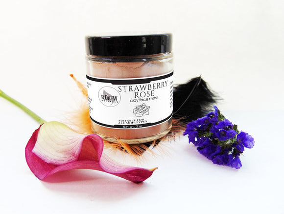 Strawberry Rose Face Mask