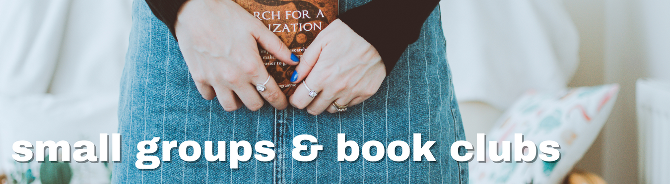 faith-based resources, guides, discussion questions, and books for church groups, small groups, and book clubs