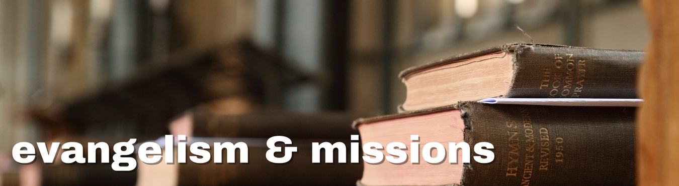 books for evangelism and missions