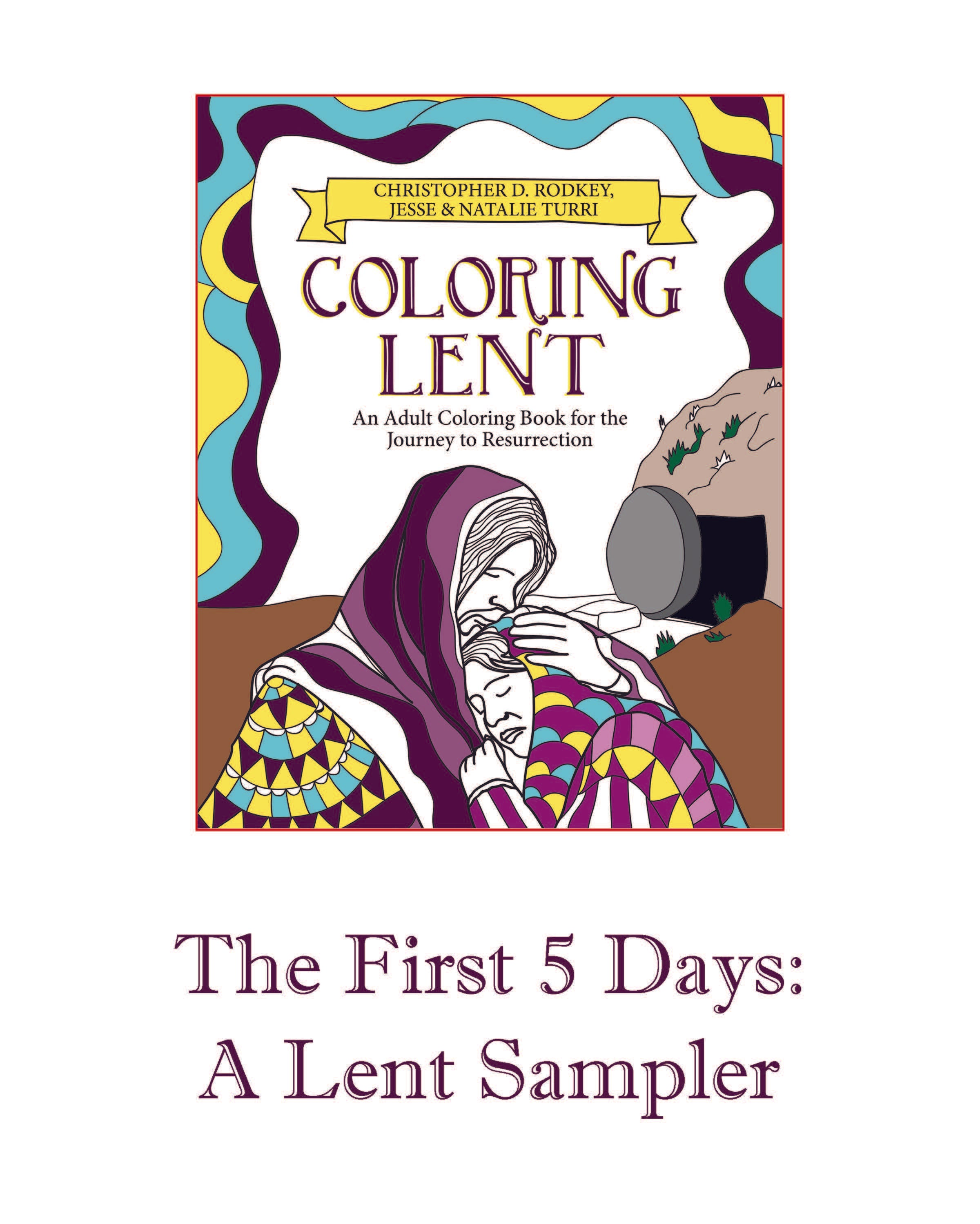 Coloring Lent Free Download Chalice Press