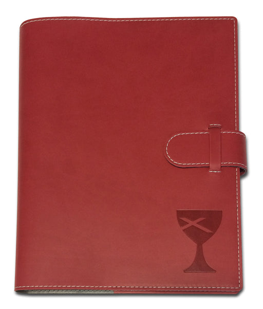Christian Church (Disciples of Christ) Writing Journal & Notebook, Faux Leather, 7 x 10 Inch, 100 Lined Pages