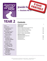 Jewish Festivals - Journey through the Bible, Year 2 Sessions 46-51 (EPDF)