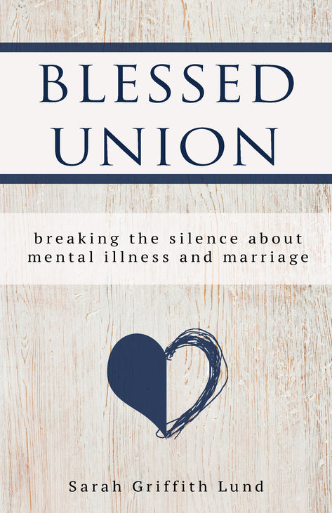 The cover of Blessed Union: a light wooden texture behind a heart, half of which is cleanly drawn and filled in and half of which is sketched in somewhat erratically.