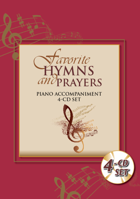 Favorite Hymns and Prayers:  Piano Accompaniment 4-CD Set
