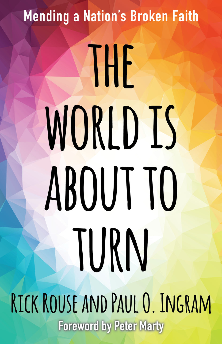 """The cover of """"The World Is About to Turn"""""""
