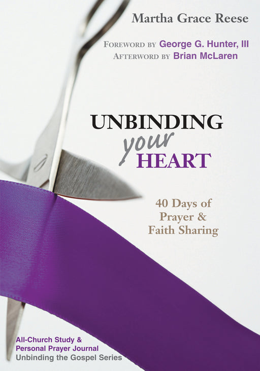 Unbinding Your Heart: 40 Days of Prayer & Faith Sharing (purple ribbon)