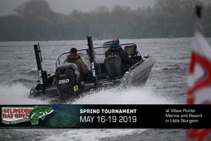 Sturgeon Bay Open Bass Tournament this week!