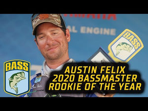 Austin Felix wins Rookie of the Year- Bassmaster Elite 2020