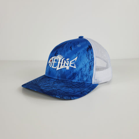 Siteline Blue RealTree Snapback Trucker Hat