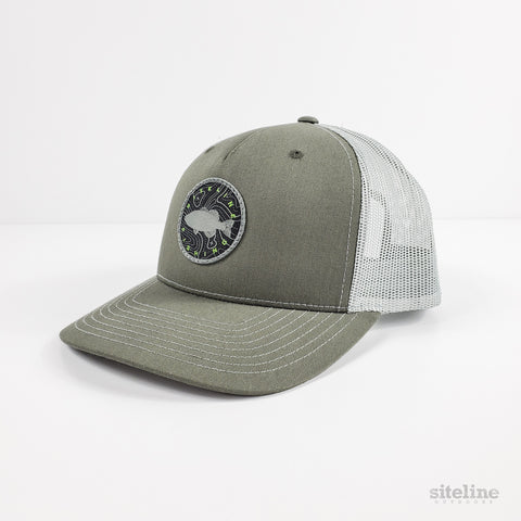 Siteline Fishing Beetle Snapback Patch Hat
