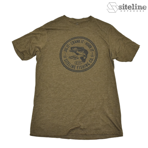 Siteline Fishing Co. Tee