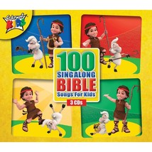 100 SING ALONG BIBLE SONGS FOR KIDS 100 all-time favorite children's Bible songs, performed by the Cedarmont Kids. Songs include: 'Jesus Loves Me', 'This Little Light of Mine', 'Jesus Loves the Little Children', 'Father Abraham', 'Joy to the World' and 95 more!