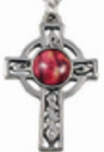 Celtic Cross Pewter Pendant - HeatherGems