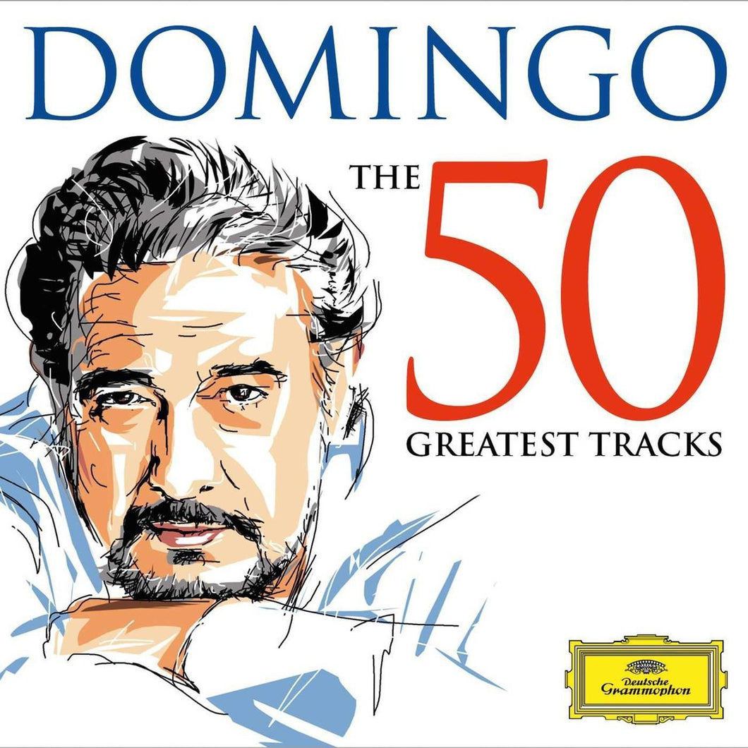 DOMINGO -THE 50 GREATEST TRACKS - 2CD - by Placido Domingo