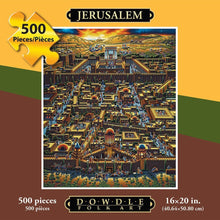 Load image into Gallery viewer, JERUSALEM - FOLK ART - PUZZLE - 500 Pieces