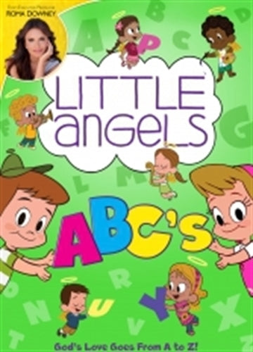 LITTLE ANGELS ABC's - DVD by Roma Downey