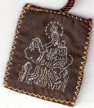 Load image into Gallery viewer, Brown Scapular of Mount Carmel - Large size - 060.0005